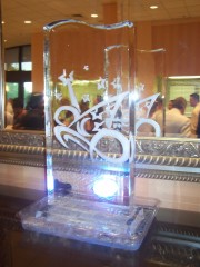 Buffet Ice Sculpture Displays