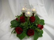 Roses in Candlelight <br /> $85