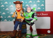 Buzz and Woody in Andy's Room