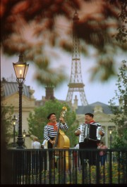 Musicians in the France Courtyard