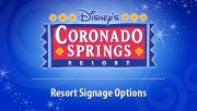 Coronado Springs Resort Signage