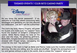 Club Ritz Casino Party Event Concept PDF Thumnail