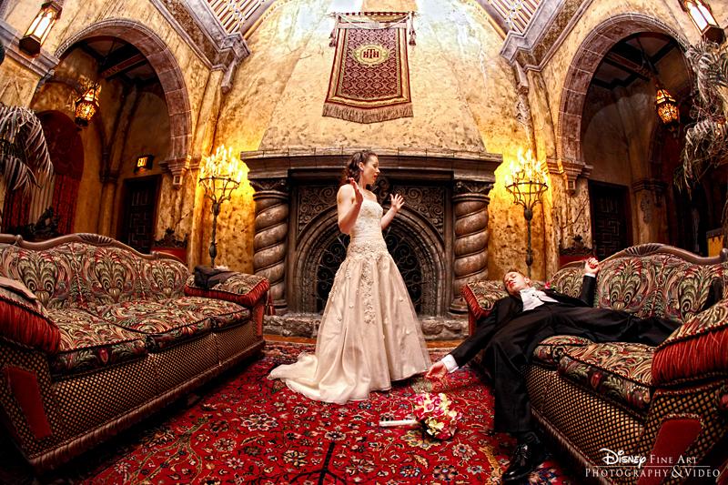 Emilie And Adam Escape Wedding